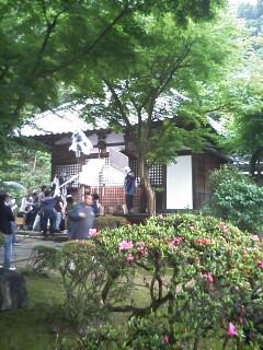 雨の清閑寺
