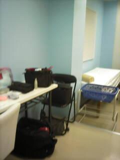 病院のセット。