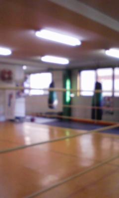 ボクシングジム。