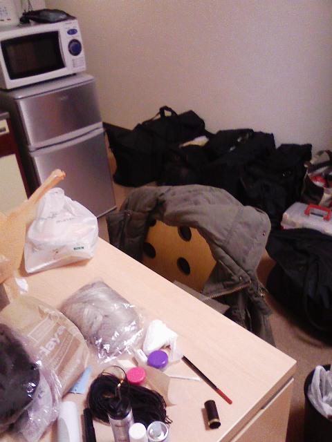 準備部屋。