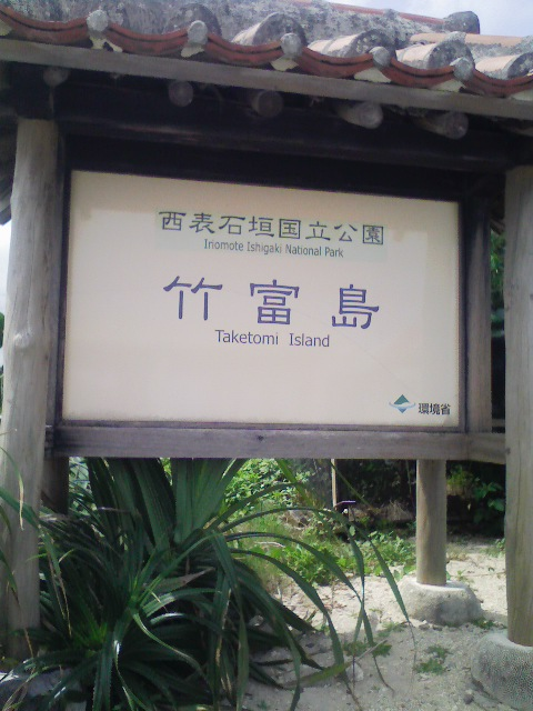 沖縄にいます。